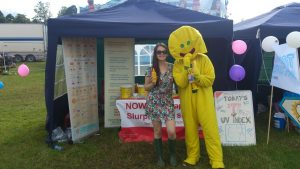 T in the Park 2016 MASScot stall