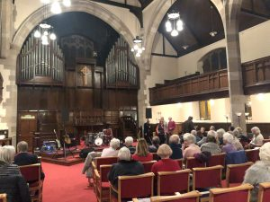 Fundraiser at Cairns Church, MASScot